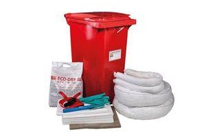 Kits de emergencia para control de derrames