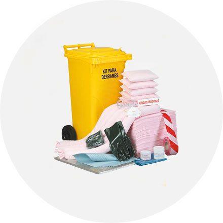 kit de emergencia derrames