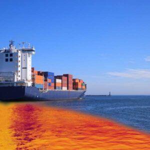 derrame de petróleo mar