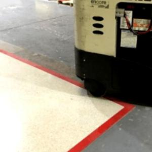 cinta para marcar el suelo